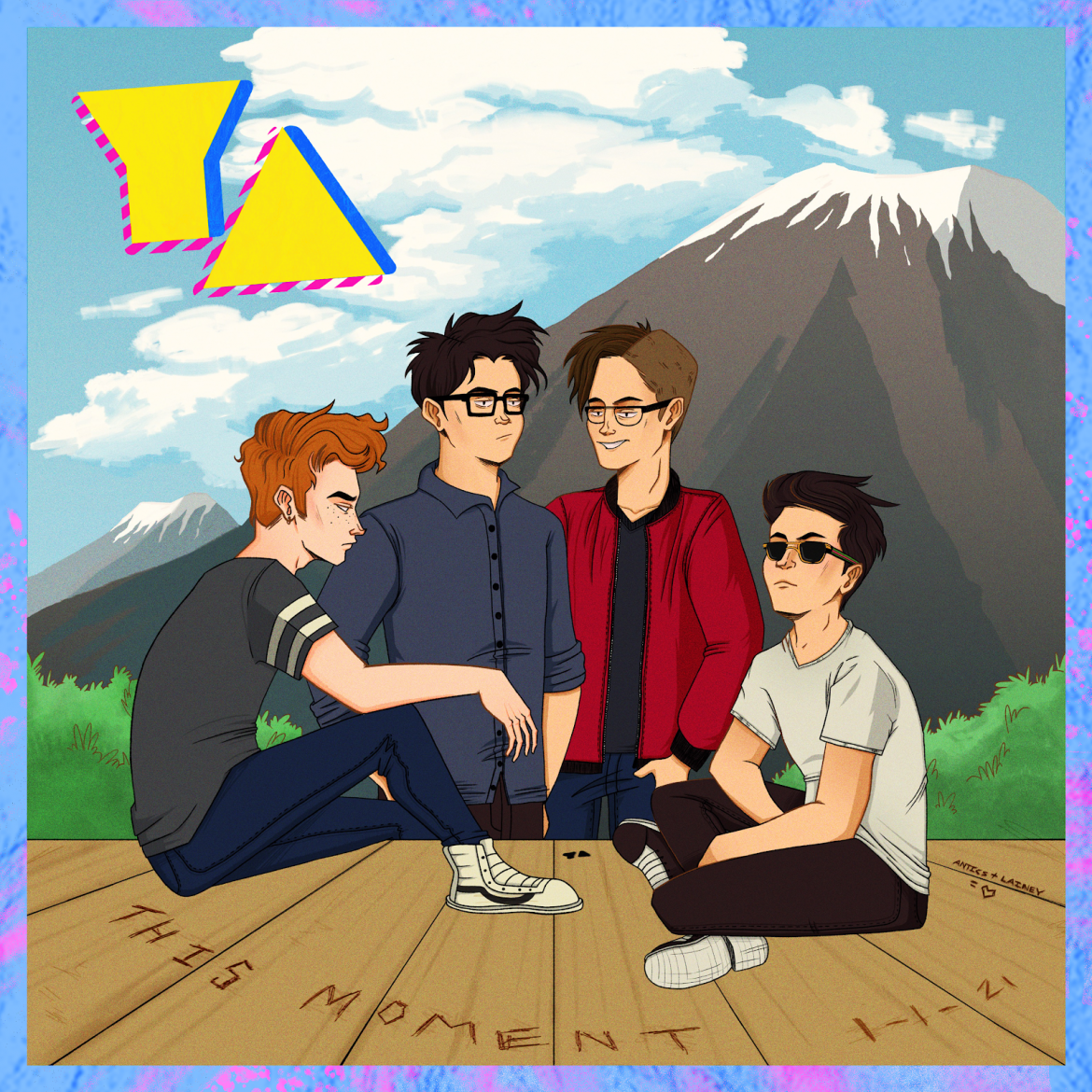 Youth Antics Released New Song, This Moment, on Spotify